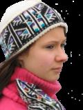 Lue uten øreklaff – manndalsmønster